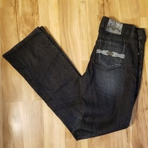 Guess size 28 dark washed jeans